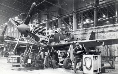 P-51B No 5 Hanger 1944